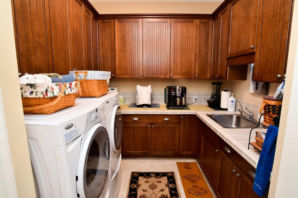 Separate Laundry Room off Kitchen