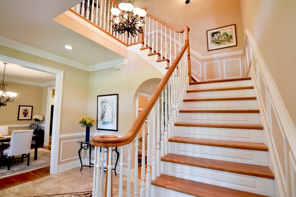 Formal Entryway upon entering home
